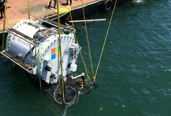 Microsoft Project Natick underwater datacenter