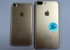 Apple iPhone 7 - iPhone 7 Plus gold leak