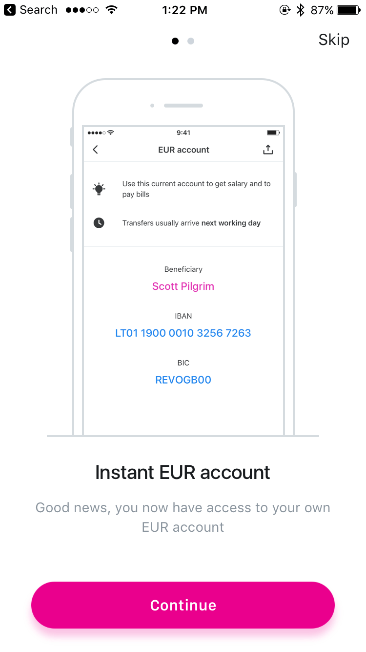 Libras Euros Conversion Revolut Launches Personal Euro Accounts With Your Own Iban