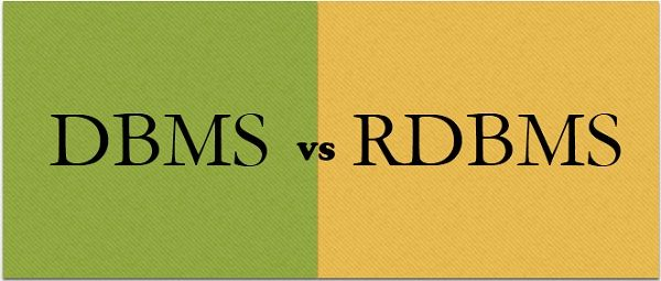 Difference Between DBMS and RDBMS (with Comparison Chart) - Tech