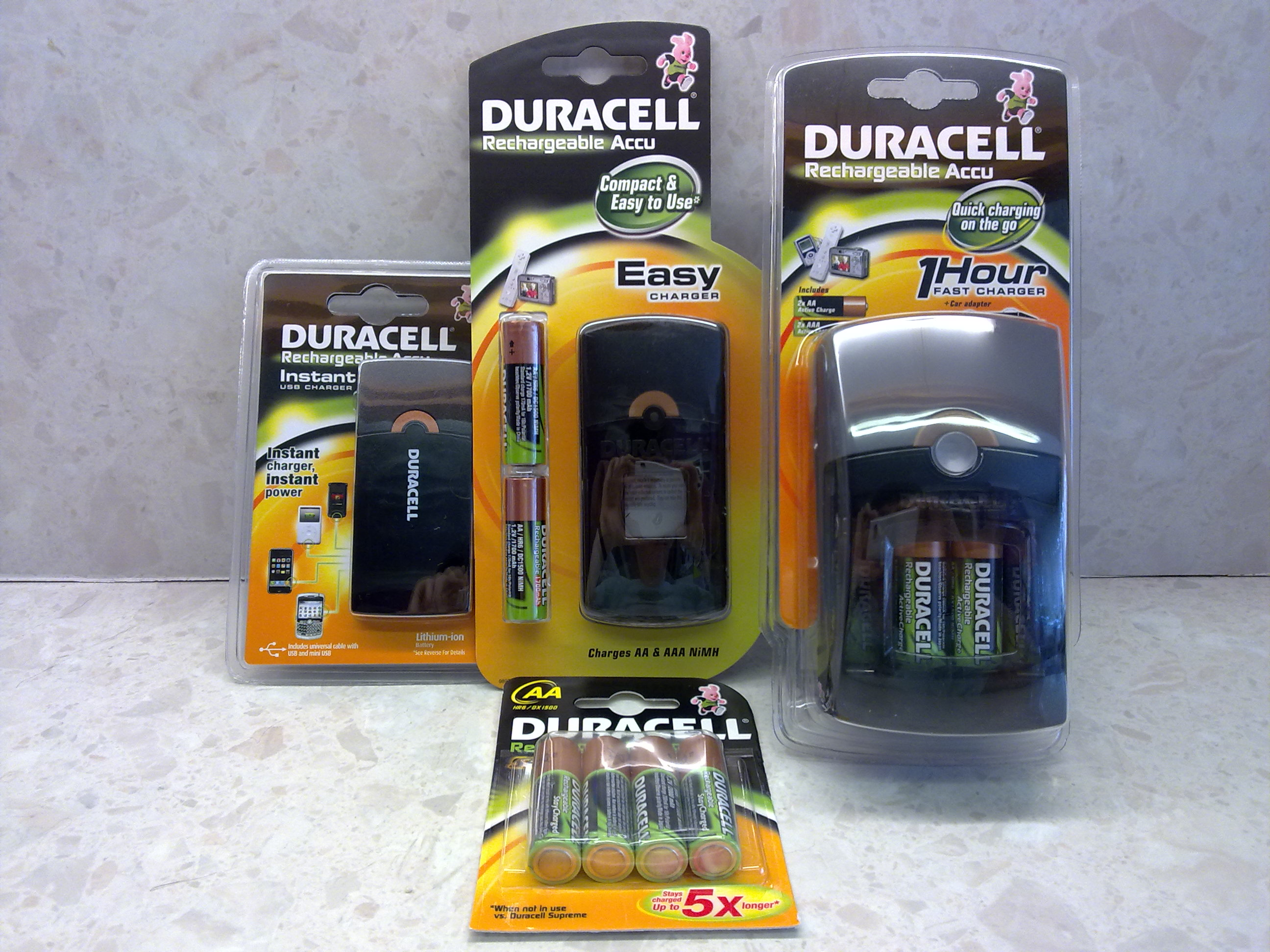 Accu Rechargeable Duracell Batteries Rechargeable Accu Range Review Tech Digest
