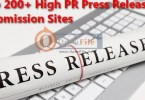 Best Paid and Free Press Release Sites