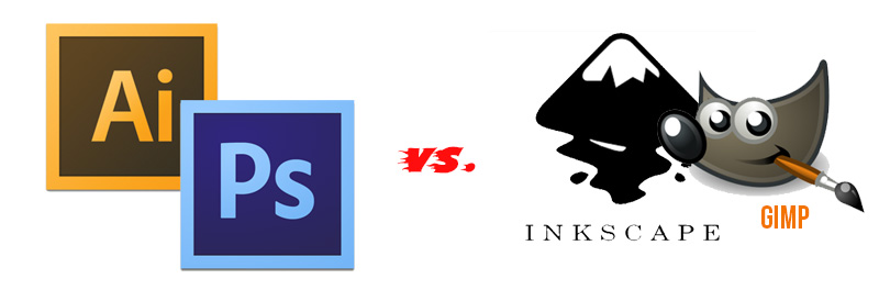 Illustrator Photoshop Vs Inkscape Gimp Playing The Devil