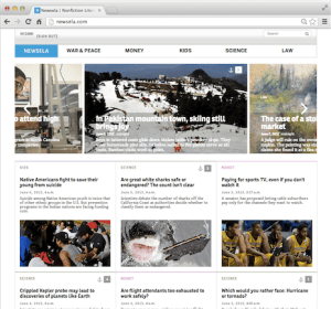 Newsela Screenshot