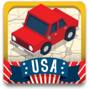 App Review – Geography Drive USA