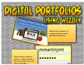 Digital Portfolios Using Weebly