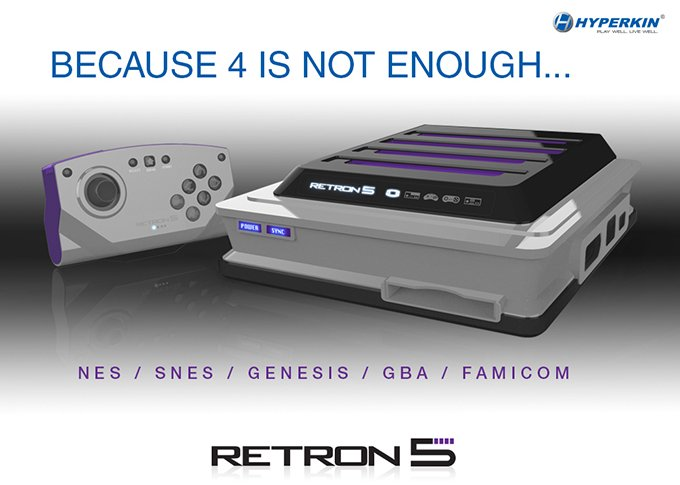 Retron 5 Adapter Master System Hyperkin's Retron 4 In 1 Game Console To Launch On