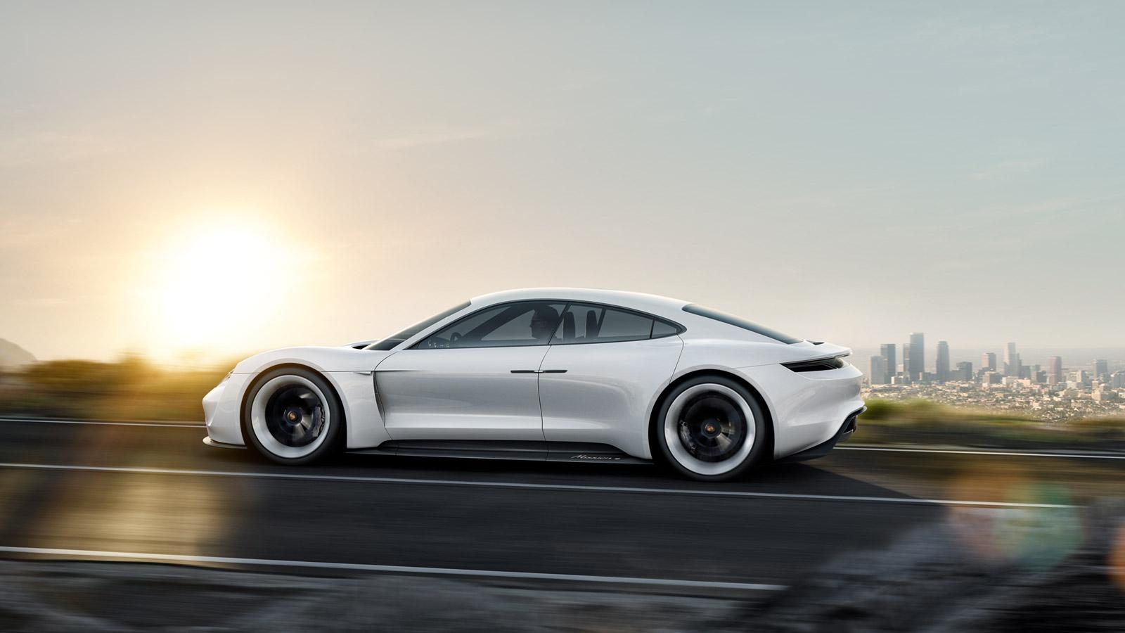 Images Of A Bentley Car Wallpaper Porsche S Mission E Concept Car Electrifies Frankfurt