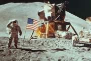 Nasa Moon Landing image