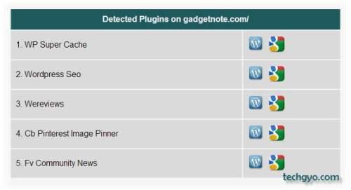 detect installed wordpress plugins
