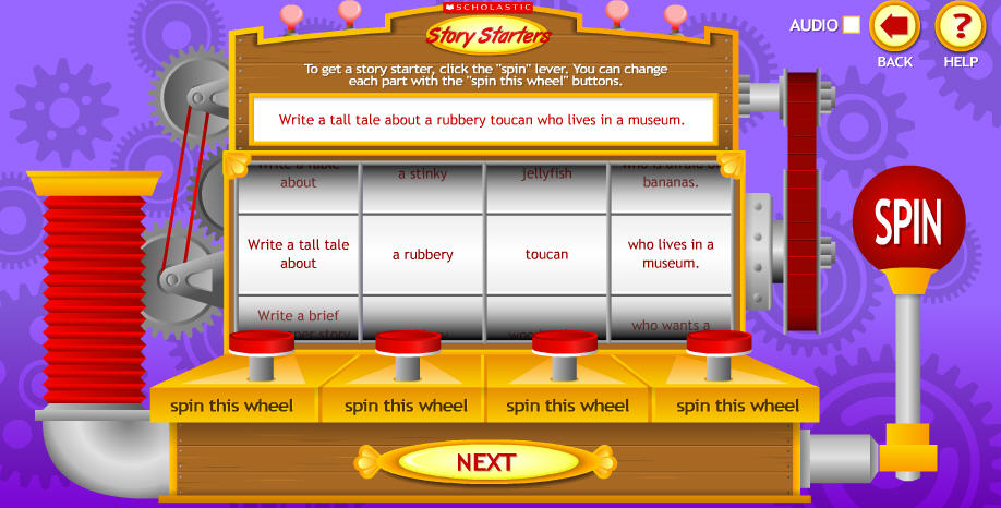 8 Great Sites for Reluctant Writers (4/6)