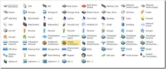 VMware vSphere PowerPoint Graphics  Visio Stencils