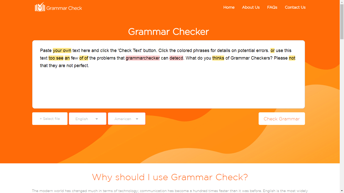 Gamma Hek Ultimate Purpose Of A Free Online Grammar Checker Tool