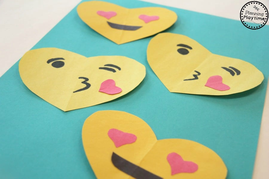 Simple Homemade Valentine\u0027s Day Cards Kids Can Make - Techie