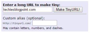 tiny URL for Short URL