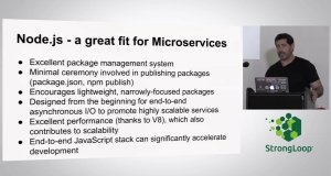Microservices, Containers and Node.js – Tony Pujals, Baynode
