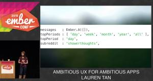 Live Coding an Ember App Using Test Driven Development at Emberconf 2015, Toran Billups