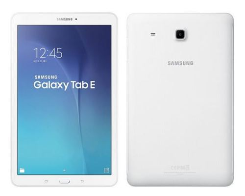 Samsung Galaxy Tab E specifications and pricing