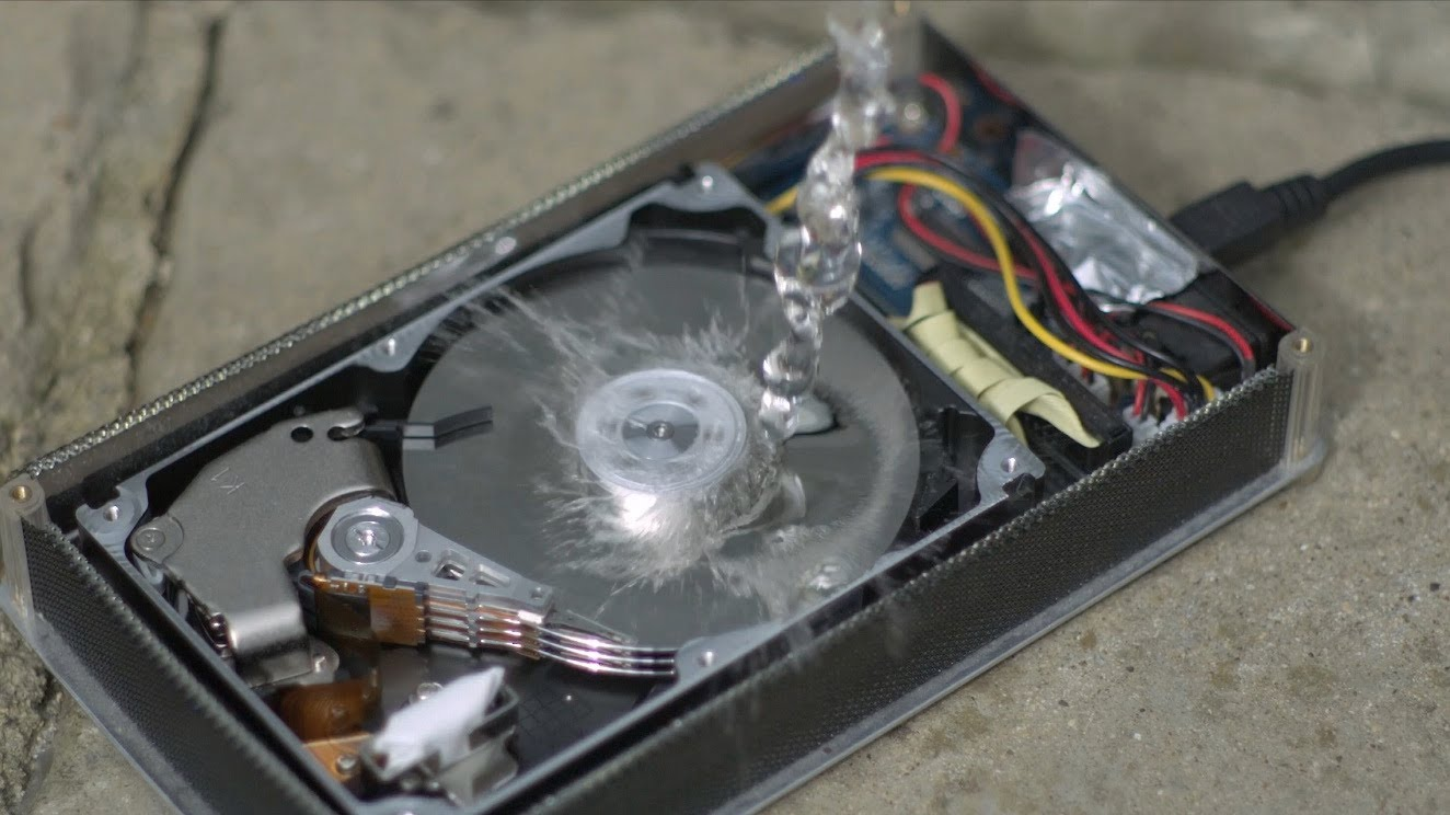 Drive Work How A Hard Drive Works In Slow Motion Techlap