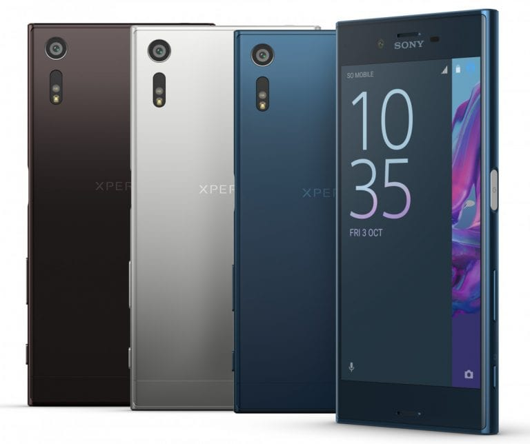Sony Xperia XZ Body Design