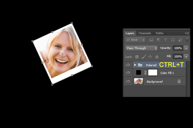 Create A Photo Collage Effect To An Image Using Photoshop