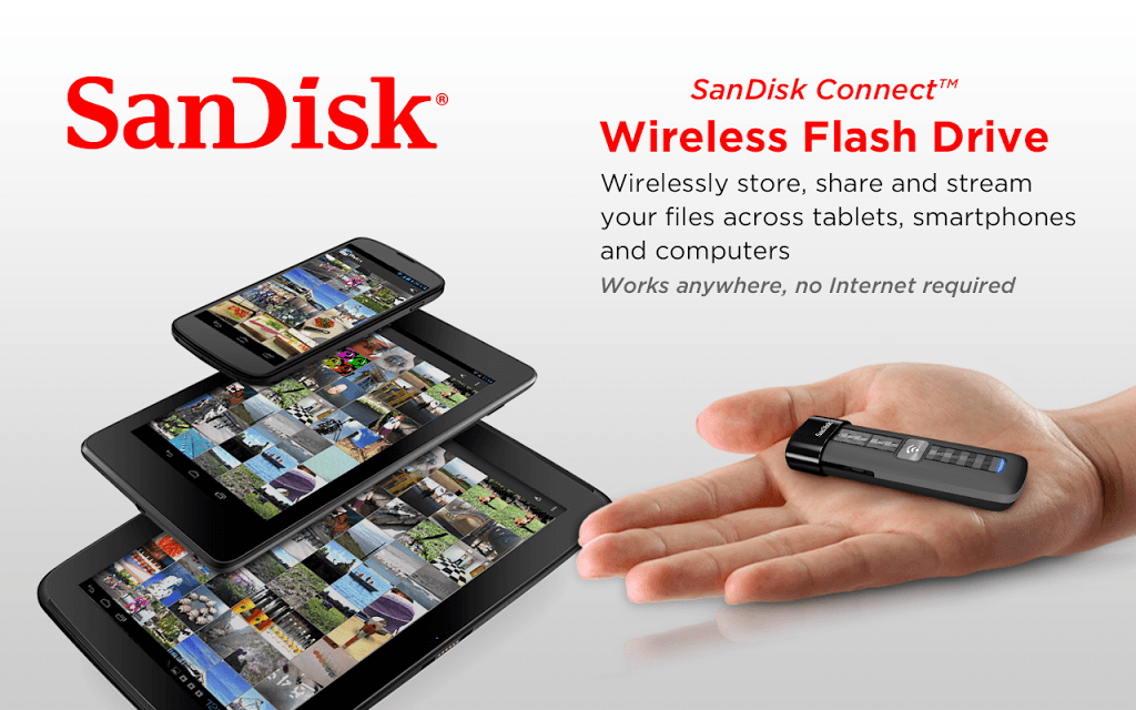 Add Wireless Mobile Storage to Your Mobile Devices With SanDisk Connect Wireless Flash Drive