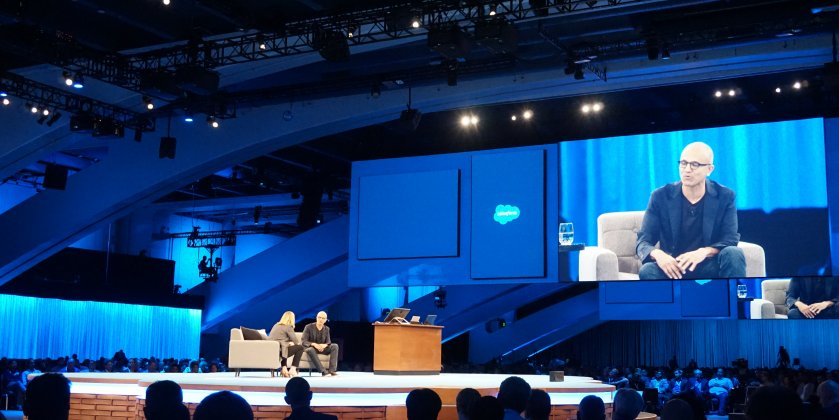 Cortana Embarrassed Microsoft CEO Satya Nadella During Live Keynote Presentation