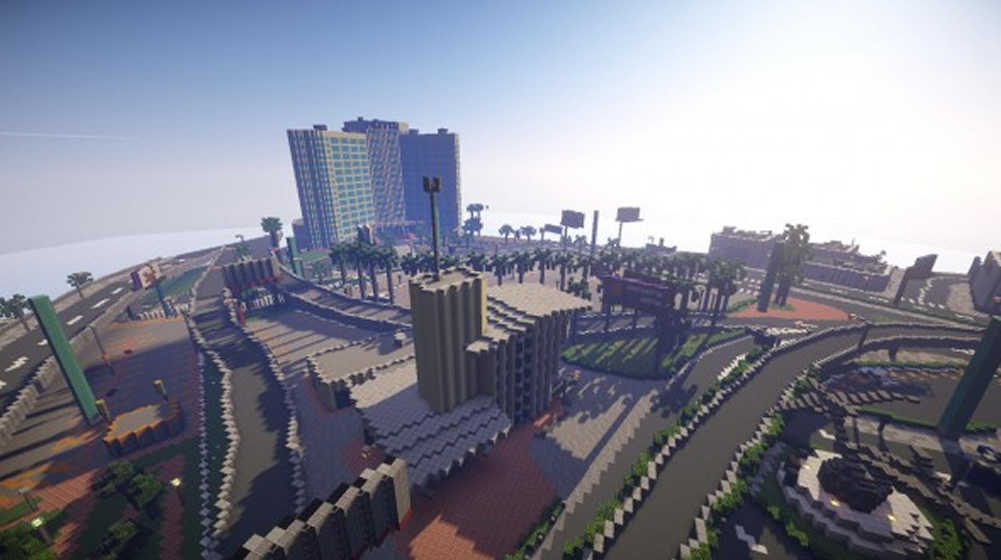 A Group Of Gamers Recreating Entire GTA 5 In Minecraft