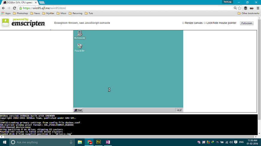 Now You Can Run Windows 95 In Your Browser