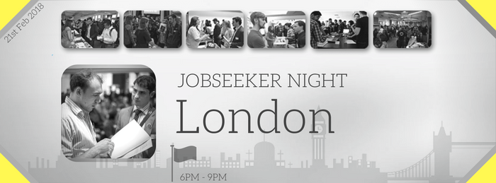 London Job Seeker Night in Feb