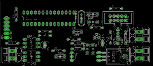 BMS developer pcb komponent placering