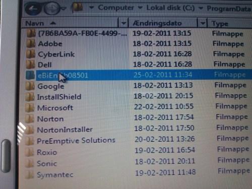 fjern system tools virus fra xp