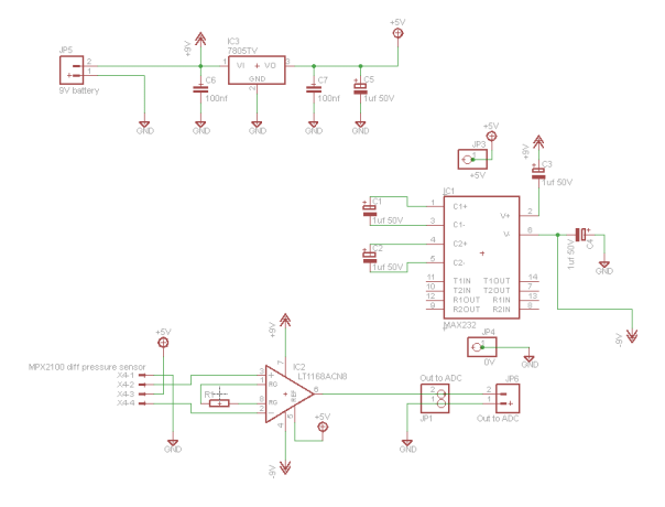 mxp2100_diff_pressure_amplifier_schematic