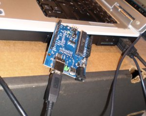 arduino singleboard tiklsluttet computer via usb