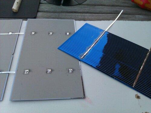 skrottede solceller med god ydelse