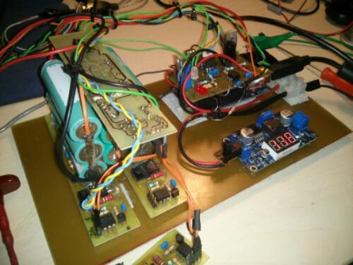 her ses den første prototype med arduino bms shield