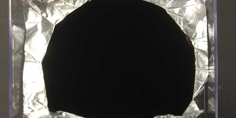 super-black-material