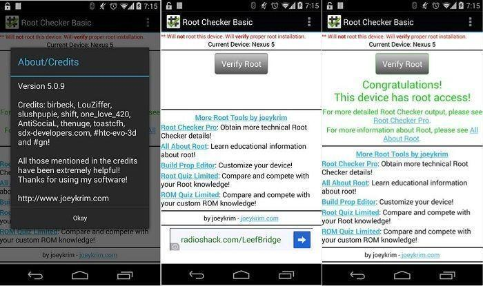 root checker apk