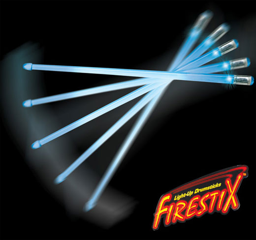 Baguette Lumineuse Led Firestix Led Drum Sticks: The Ultimate Rock Band Add-on
