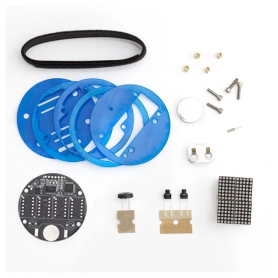 solder time ii diy led watch kit contents