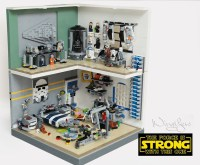 LEGO Star Wars Bedrooms: Before The Force Awakens - Technabob