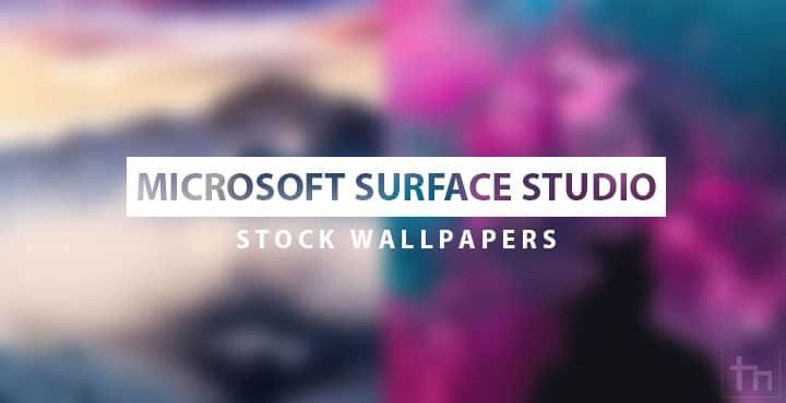 Download Microsoft Surface Studio Stock Wallpaper Technastic