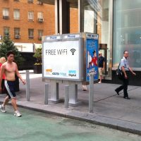 New York turns phone booths to WiFi hotspots