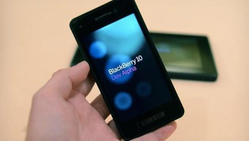 BlackBerry 10 devices presented by RIM