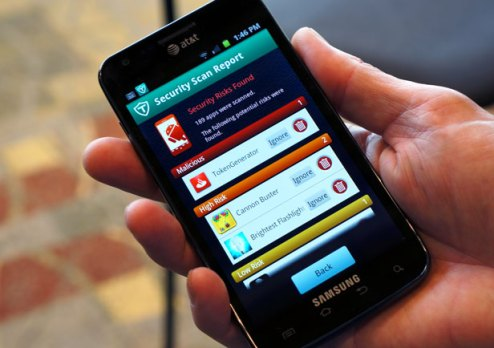 Antivirus app for your Android device