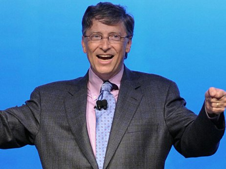 Bill Gates excited on Windows 8
