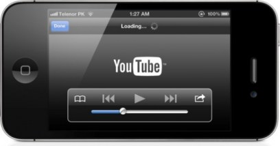 New Youtube app for iOS6