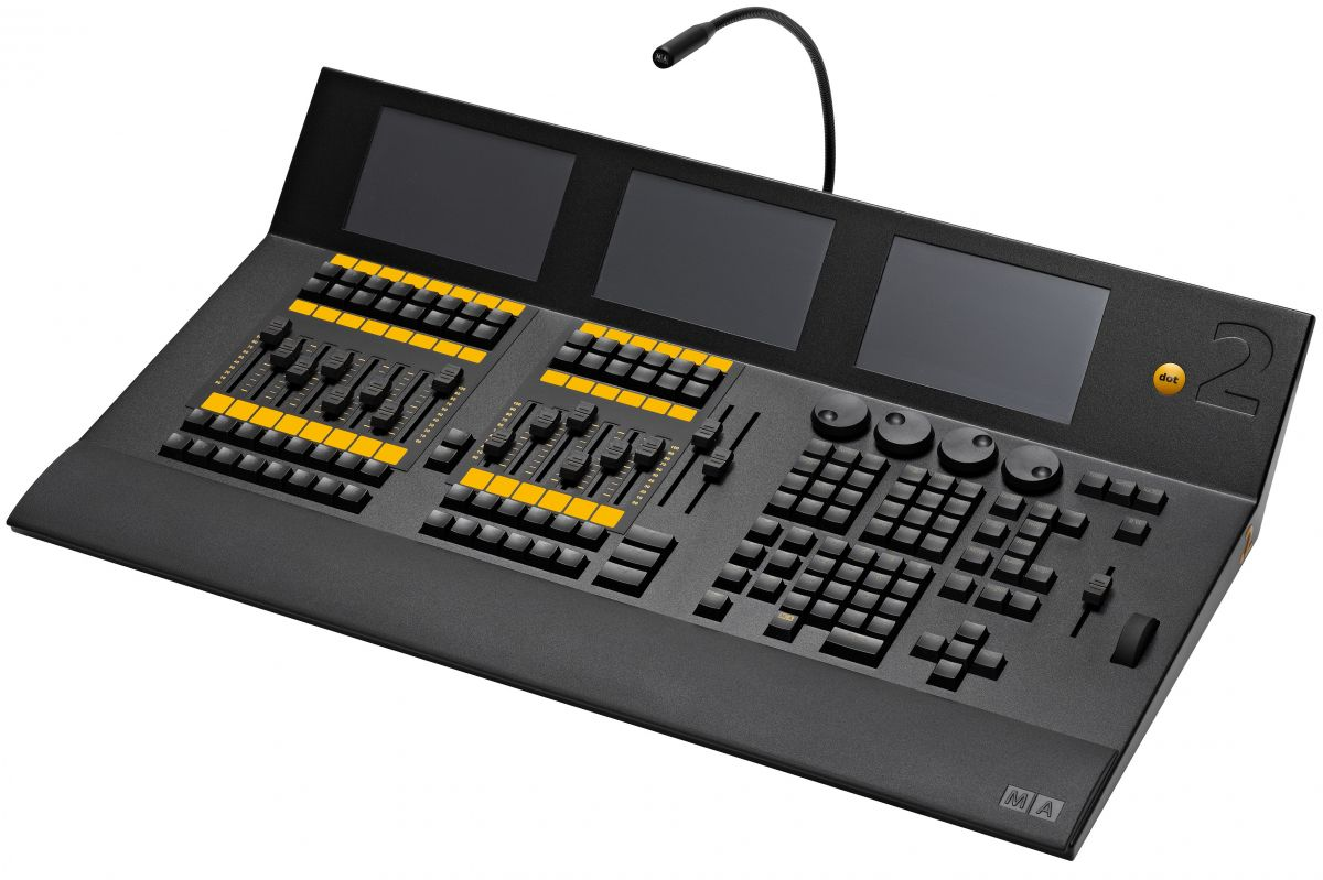 Console Eclairage Public Location D 39une Console éclairage Dot 2 Xlf Ma Lighting