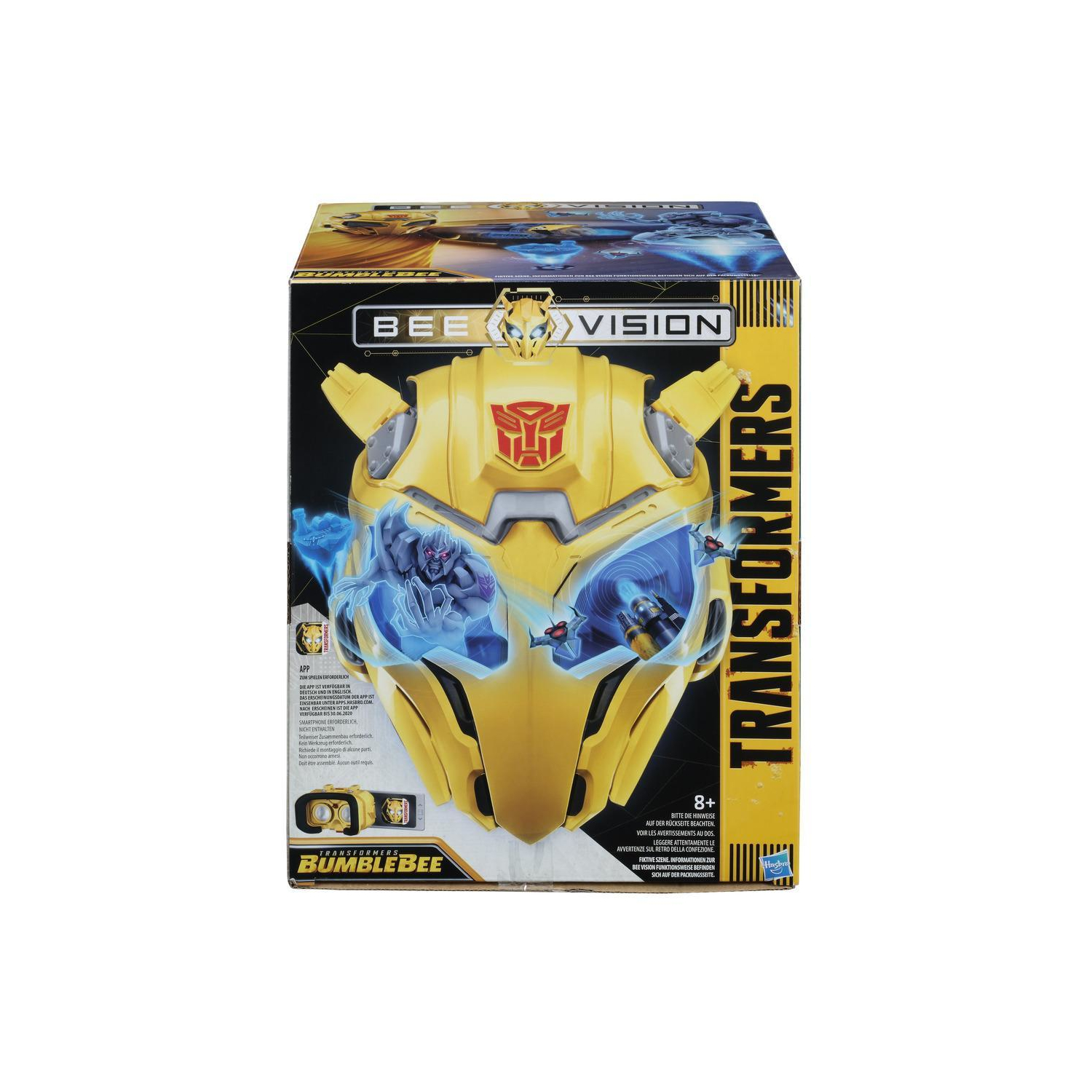 Bettwäsche Transformers Transformers-movie-6-bumblebee-vision-maske-ar-brille - Technic24.eu , 40,94 €