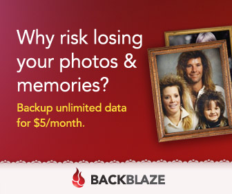Unlimited data backup with BackBlaze